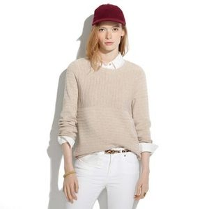 Madewell Linear Stitch Sweater